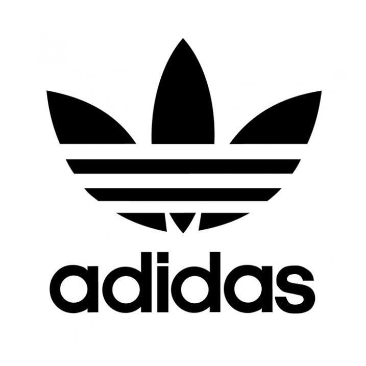Adidas Originals lipdukas be fono 8 x 8 cm