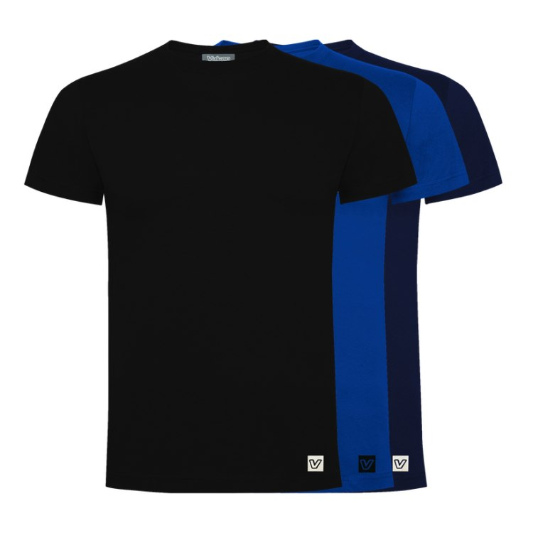 3 vnt. Vulcan marškinėliai