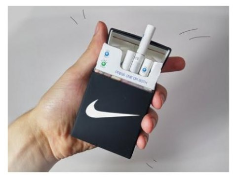 Silikoninis cigarečių dėklas Nike