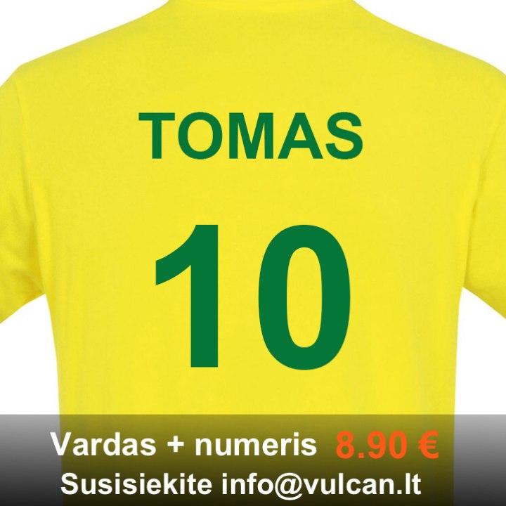 Vaik. Brasil marškinėliai