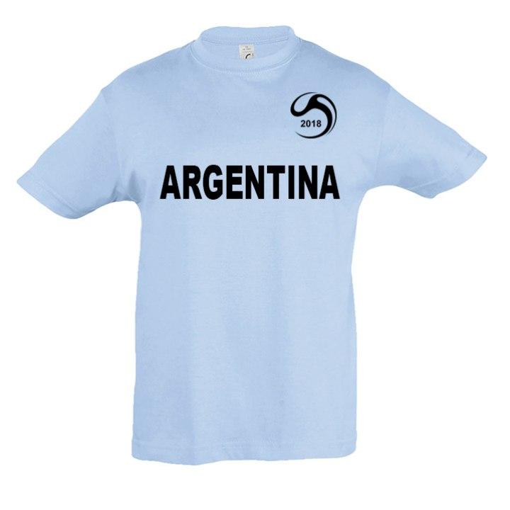 Vaik. Argentina marškinėliai