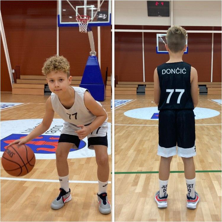 Vaikiška League krepšinio apranga