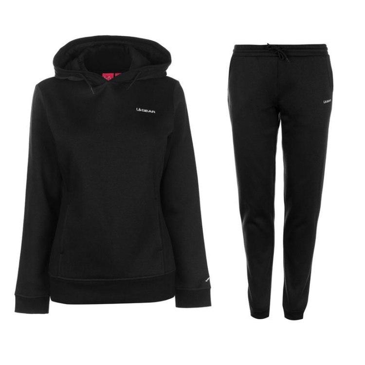 LA Gear sport. kostiumas (juodas)