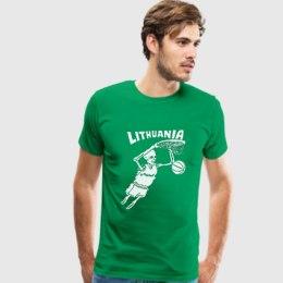 Lithuania 1992 marškinėliai