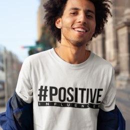 Positive Influencer marškinėliai