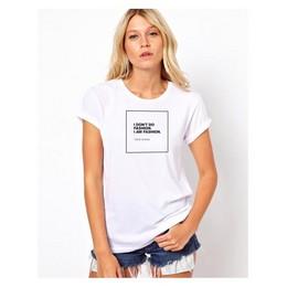 Marškinėliai su Coco Chanel citata